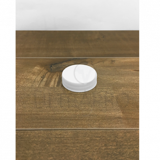 Bouchon blanc PP RS RBD seal PS22 38-400